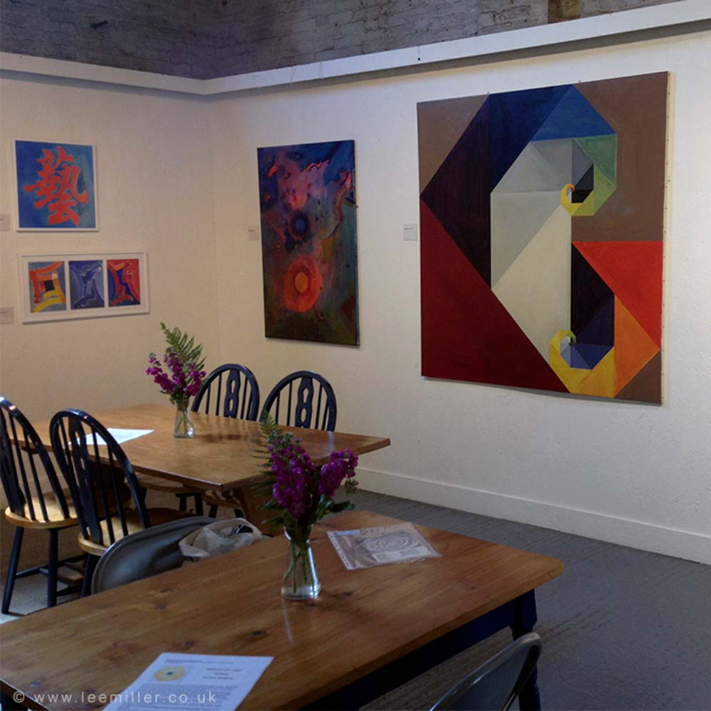 Sheila Donaldson Walters paintings in Farleys Gallery