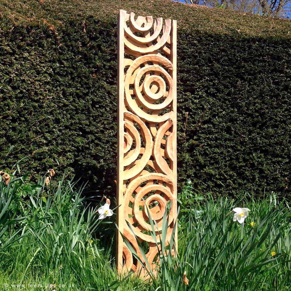 Keith Pettit sculpture in Farleys Garden