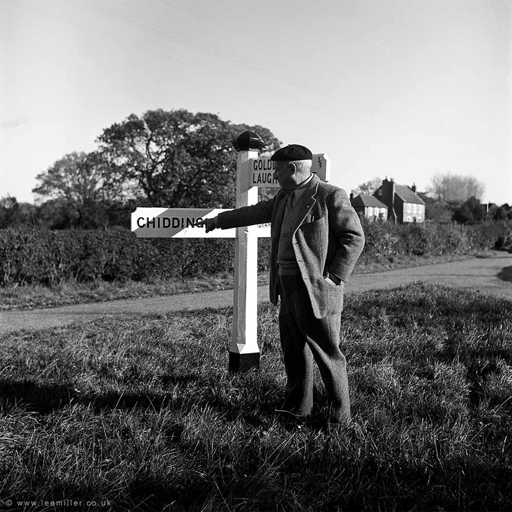 Picasso by the Chiddingly signpost
