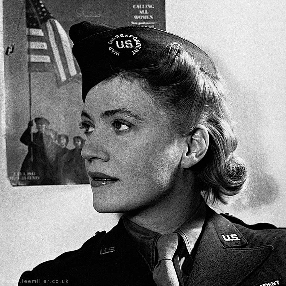 Lee Miller in uniform