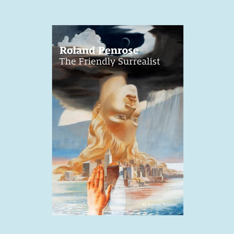 Image of front cover of new edition of The Friends Surrealist by Antony Penrose